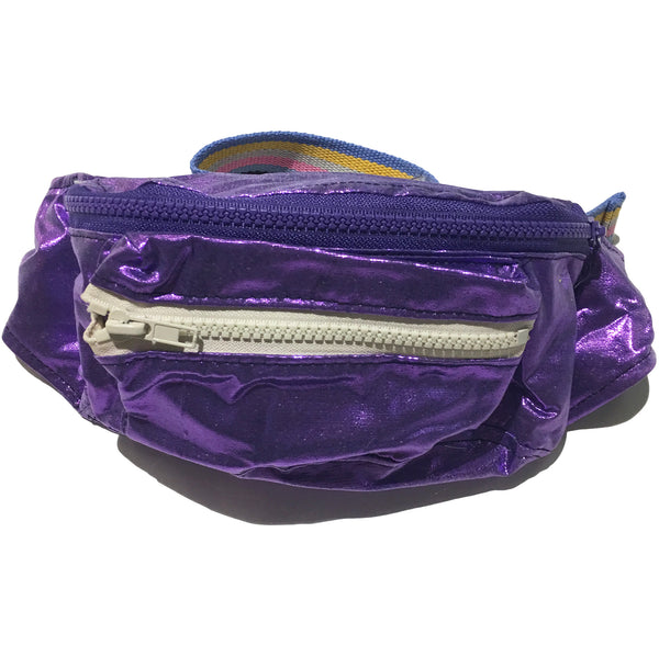 Blim Purple Shimmery Fanny Pack