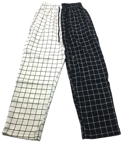 Black and White Grid Pants