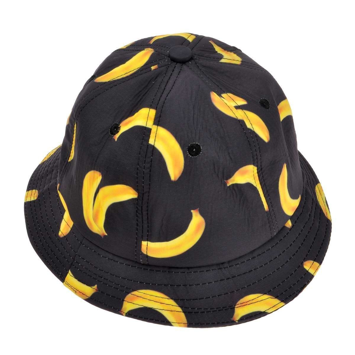 Black Banana Bucket Hat