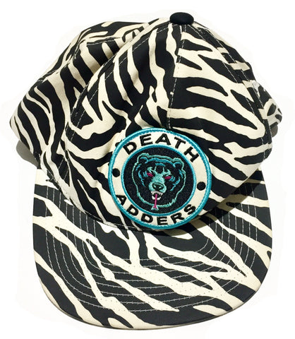 Vintage Zebra Ball Cap by Mishka