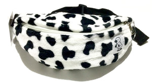 Faux Cow Fur Fanny Pack