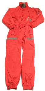 Sports a Field Red Jump Suit