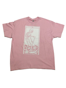 "By Tooth and Claw for Blim ""Death"" Pink T"