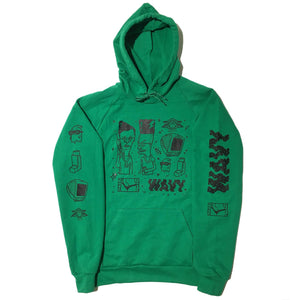 Custom Dillkins for Blim Hoodie (GREEN)