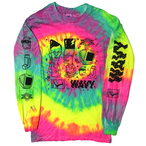 Custom Dillkins for Blim Long Sleeve (TIE DYE)