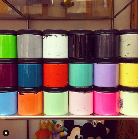 Custom Color Screenprint Inks - Waterbased