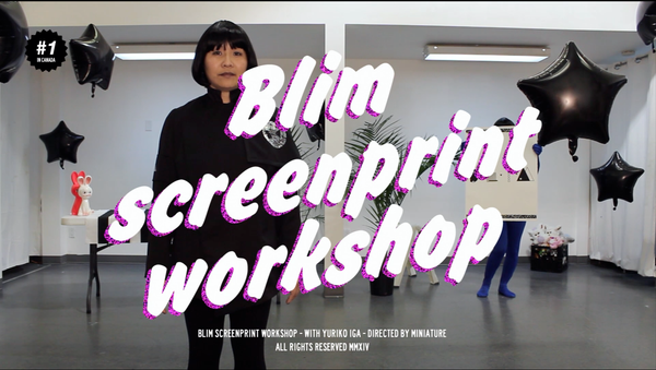 Blim Intro and Level 2 Combo Screen print Workshop