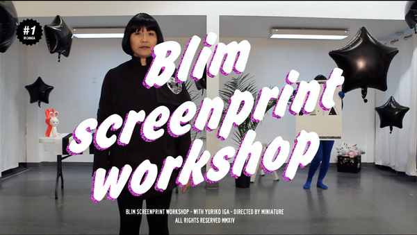 Blim Intro to Screen Print Workshop