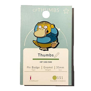 Ralph x Psyduck Pin Badge by THUMBS