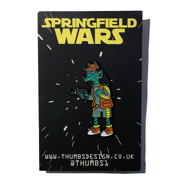 Otto x Springfield Wars Pin Badge by THUMBS
