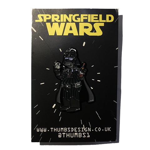Homer x Springfield Wars Pin Badge by THUMBS