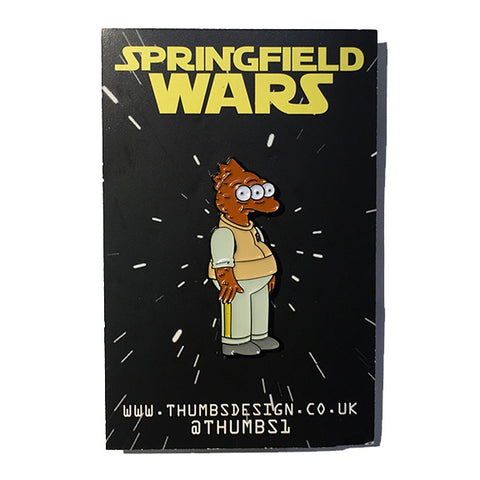 Blinky x Springfield Wars Pin Badge by THUMBS