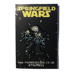 Mr Burns x Springfield Wars Pin Badge by THUMBS