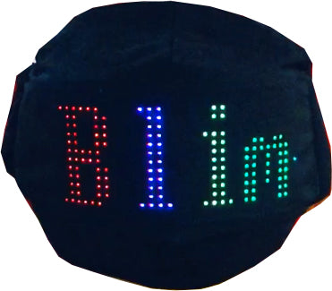 Moving LED face mask