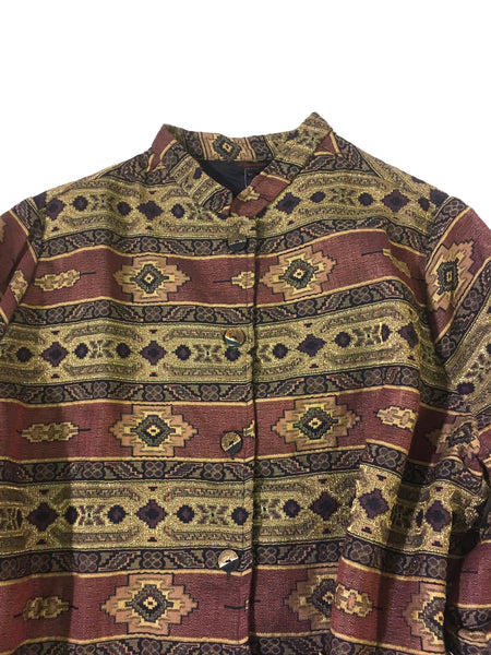 Moroccan Brocade Jacket