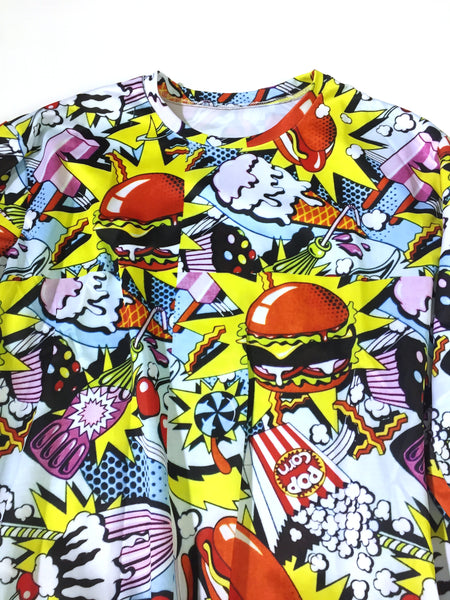 Pop Art Burger Sweatshirt