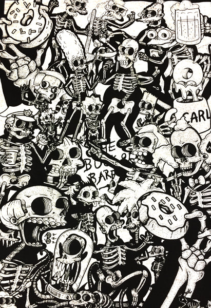 Dead Springfield T-Shirt by Bare Bones SOLD OUT