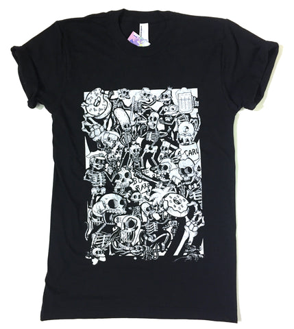 Back In Stock!!     Dead Springfield T-Shirt by Bare Bones