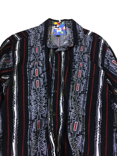 Vintage Slim Button Up Shirt