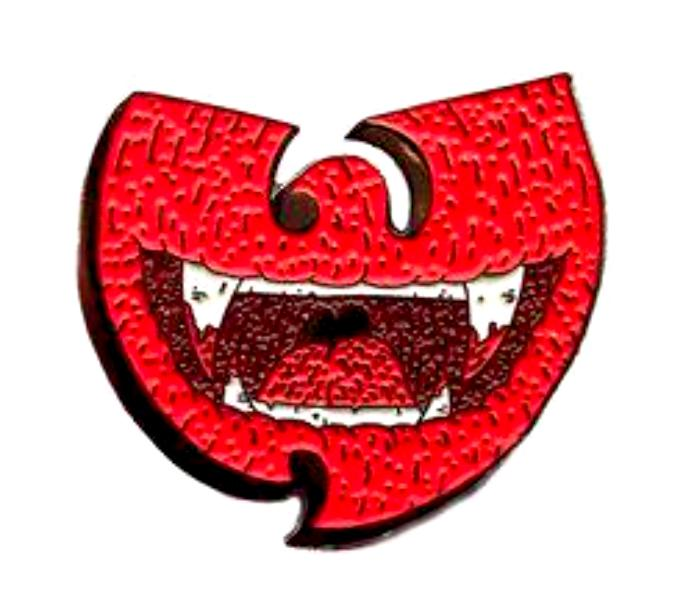 Wolfmask for Blim Wu-Fang Enamel Pin