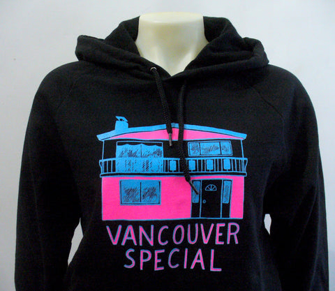 Chantale Doyle for Blim Neon Vancouver Special Hooded Sweater