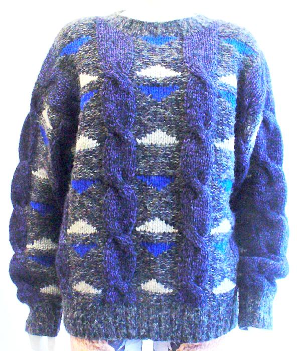 Vintage Wool/Mohair Knit Sweater