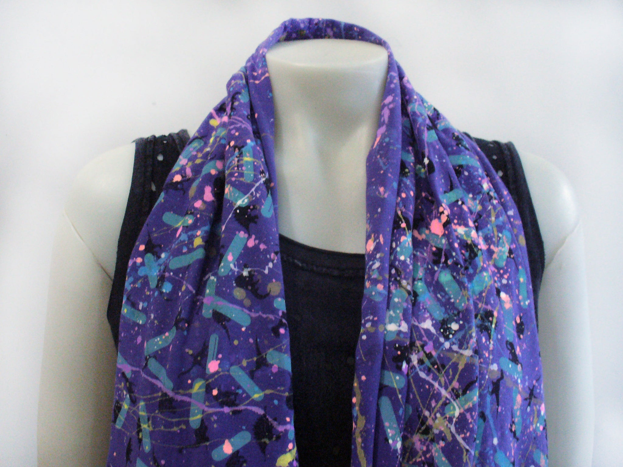 Blim! Few of A Kind Splatter Infinity Scarf