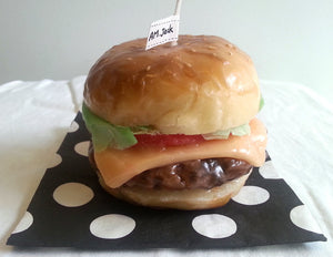 Handmade Burger Candle