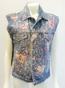 One of a Kind Artist Series Denim Vest