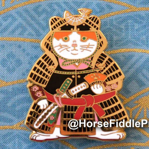 Samurai Cat by Horse Fiddle Press