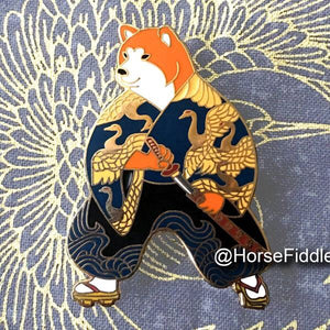 Shiba Samurai by Horse Fiddle Press