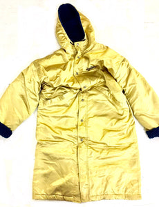 Gold Mizuno full length jacket