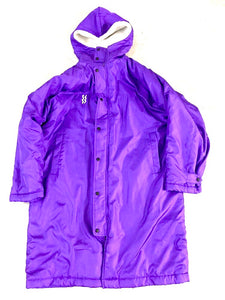 Long Fleece purple Jacket
