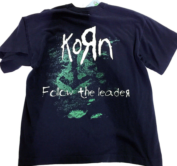 Vintage Korn Follow the Leader T-shirt