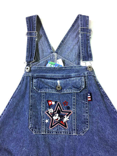 Mickey Denim Overalls