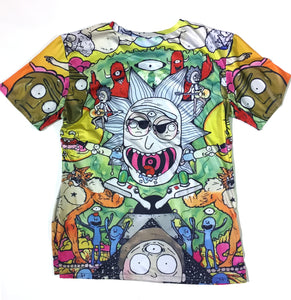 Rick and Morty Psychedelica Shirt