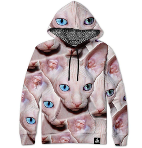 Hairless Cat Hoody by Set4Lyfe
