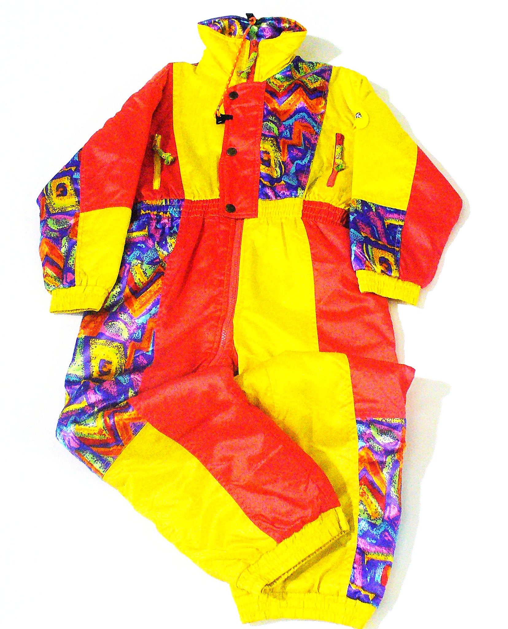 Snow Dream Vintage Kids Ski Suit