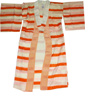 Vintage Striped Yukata