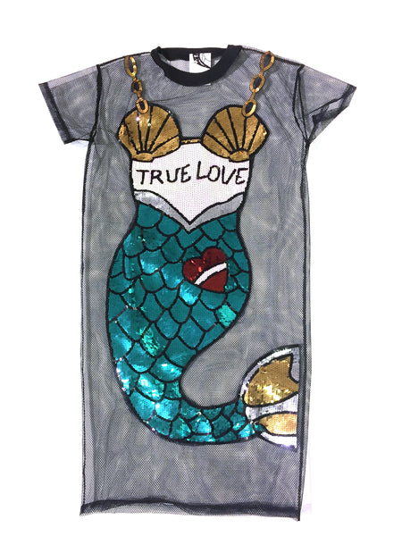 Mermaid Mesh Dress