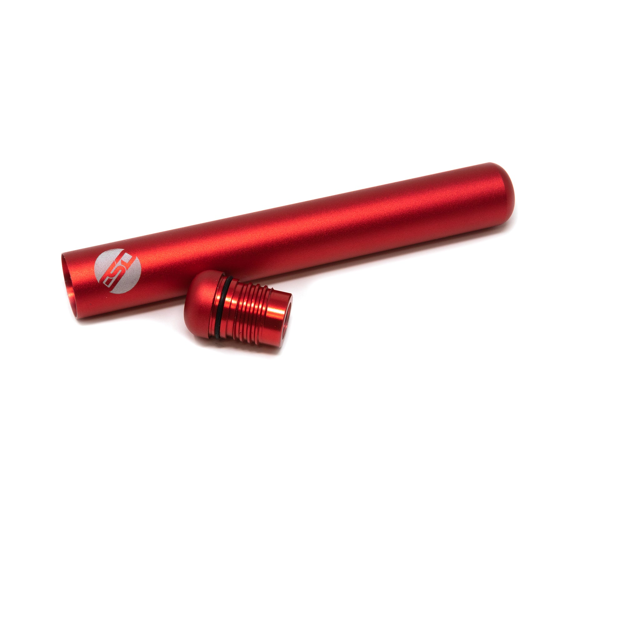 ESD Conetainer | Red | Metallic Doob Tube