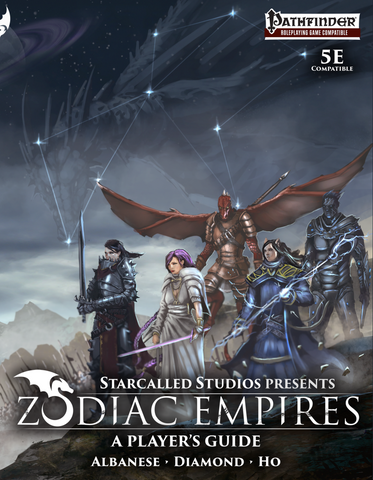 Zodiac Empires Players Guide (Hardcover, 150 pages)
