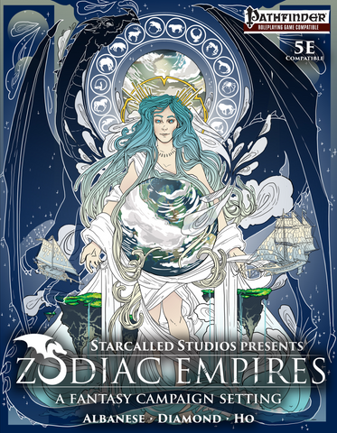 Zodiac Empires Campaign Setting (Hardcover, 300 pages)
