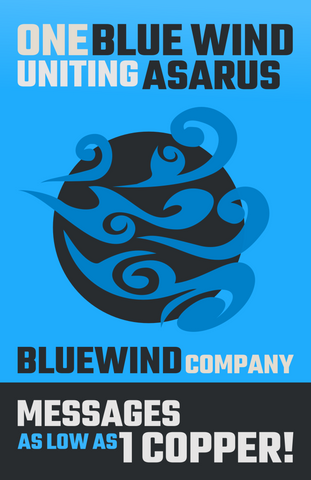 Bluewind Company Poster
