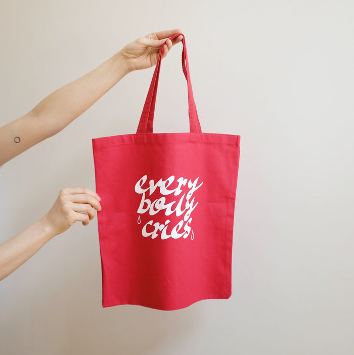 Ode 'Everybody Cries' Tote Bag