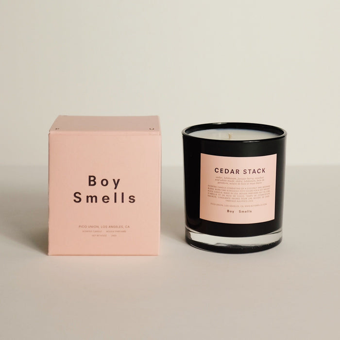 Boy Smells: Cedar Stack