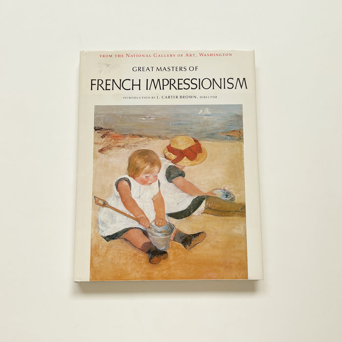 Great Masters of French Impressionism Art Book