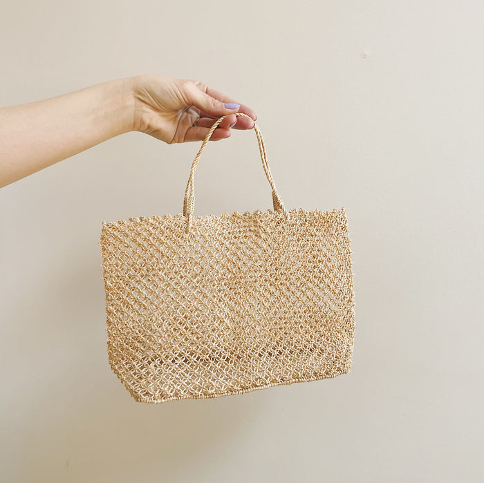 Vintage Small Woven Day Bag