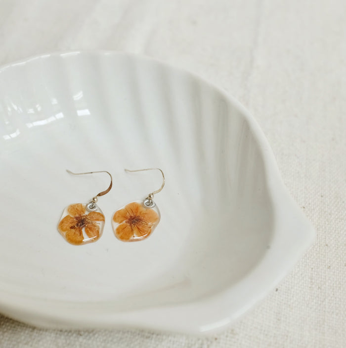 Petal Earrings: Spirea