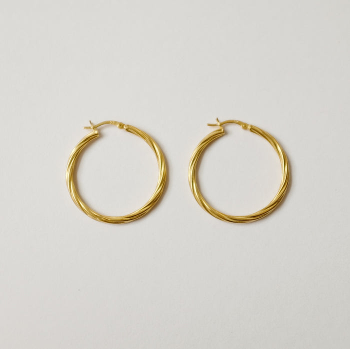 Eleventh House: Flaxen Hoops - HEY JUDE SHOP